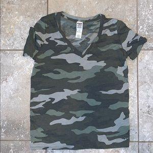 Victoria Secret PINK  camouflage vneck 🇺🇸